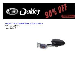 Oakley Juliet sunglasses with big discount free shipping out