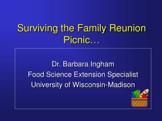 Surviving the Family Reunion Picnic