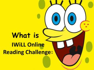 IWiLL Online  Reading Challenge :