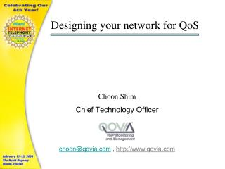 Designing your network for QoS