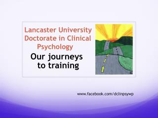 Lancaster University Doctorate in Clinical        Psychology
