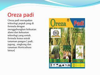 Oreza padi