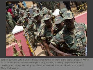 Bissau soldiers attack candidates home
