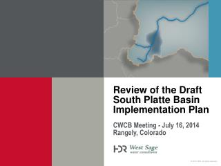 Review of the Draft South Platte Basin Implementation Plan