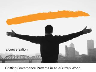 Shifting Governance Patterns in an eCitizen World