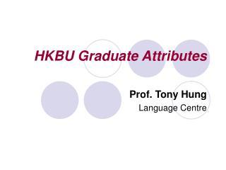 HKBU Graduate Attributes