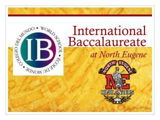International Baccalaureate at North Eugene