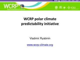 WCRP polar climate  predictability initiative
