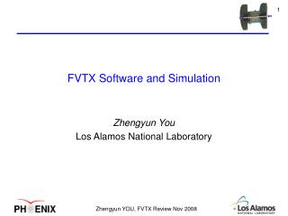 FVTX Software and Simulation