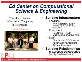 Ed Center on Computational Science & Engineering