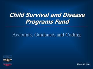 Child Survival and Disease Programs Fund