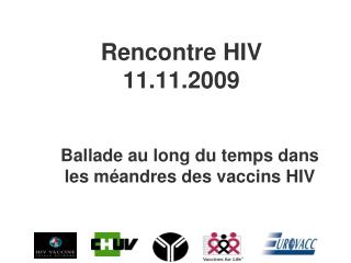 Rencontre HIV 11.11.2009