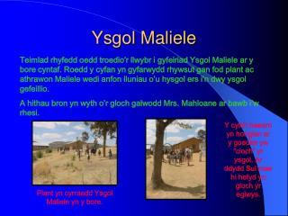 Ysgol Maliele