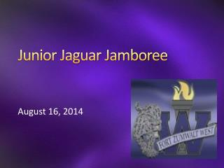 Junior Jaguar Jamboree