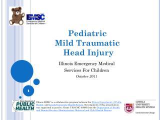 Pediatric  Mild Traumatic  Head Injury