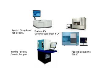 Illumina / Solexa  Genetic Analyzer