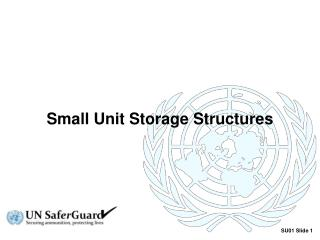 Small Unit Storage Structures