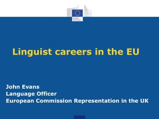 Linguist careers in the EU