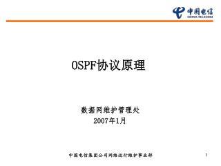 OSPF 协议原理