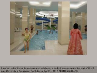 Poolside Pyongyang