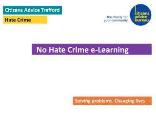 Citizens Advice Trafford