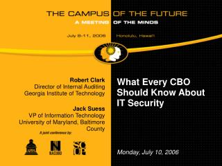 What Every CBO Should Know About IT Security