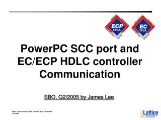 PowerPC SCC port and EC/ECP HDLC controller Communication