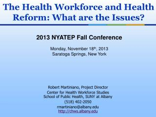 2013 NYATEP Fall Conference Monday, November 18 th , 2013 Saratoga Springs, New York