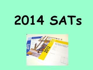 2014 SATs