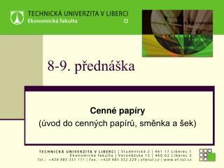 8-9. přednáška