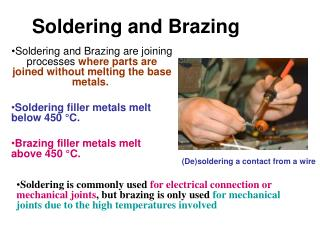 Soldering and Brazing