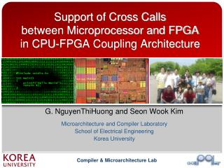 Support of Cross Calls between Microprocessor and FPGA in CPU-FPGA Coupling Architecture
