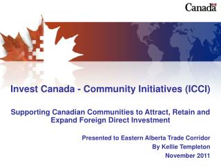 Invest Canada - Community Initiatives (ICCI)