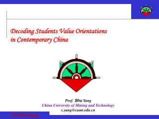 Decoding Students Value Orientations  in Contemporary China