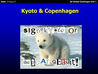 Kyoto & Copenhagen