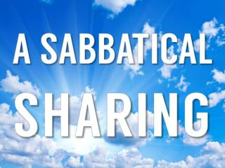 Sabbatical Learnings