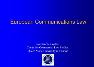 European Communications Law