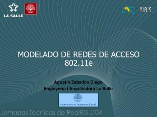 MODELADO DE REDES DE ACCESO 802.11e