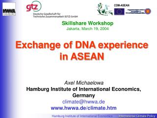 Exchange of DNA experience in ASEAN