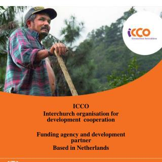 ICCO  Interchurch organisation for development  cooperation