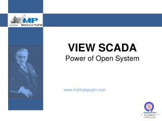 VIEW  SCADA Power of Open System