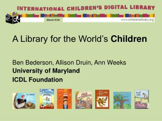 A Library for the World's  Children
