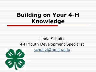 Building on Your 4-H Knowledge