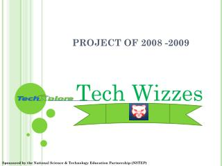 PROJECT OF 2008 -2009
