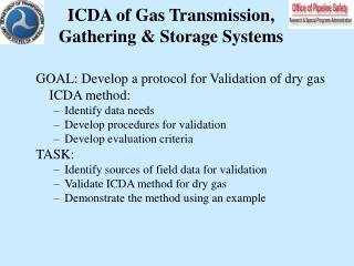 ICDA of Gas Transmission, Gathering & Storage Systems