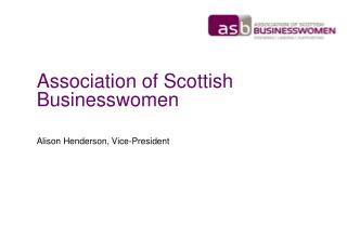 Association of Scottish Businesswomen