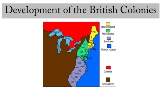 The Colonial Period