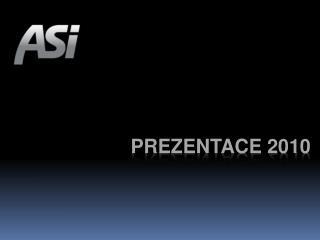 PREZENTACE 2010