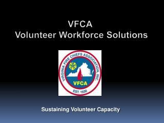 VFCA  Volunteer Workforce Solutions