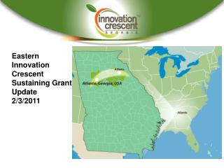 Eastern Innovation Crescent Sustaining Grant Update 2/3/2011